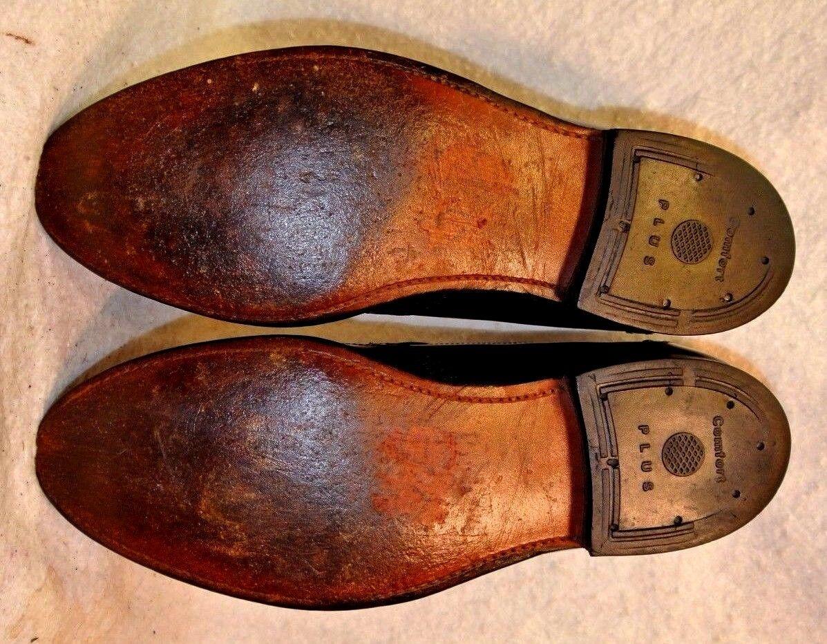 Vintage Vintage Vintage Stafford Brogue Wingtip Tassel Loafer Dress schuhe Men`s 9 1 2 D B 262aba