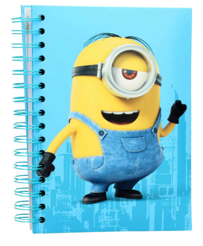 Minions Light Up Notebooks with Character Laughing Sounds