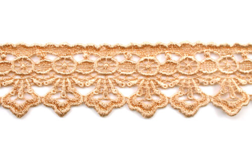 """Unotrim 1.75/"""" Wide 19 Colors Venise Guipure Lace Trim Floral Embroidery By Yard"""