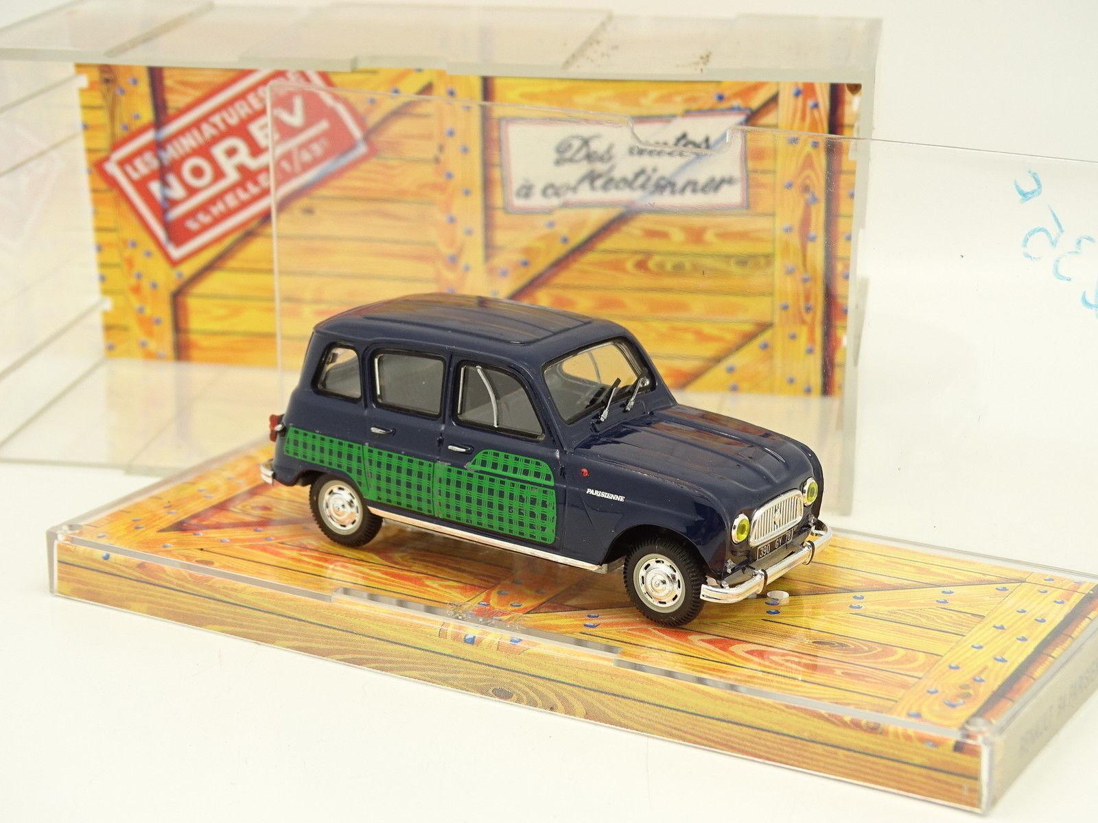 caliente Norev 1 43 - Renault 4 4L Parisienne Parisienne Parisienne Azul y verde  precios bajos