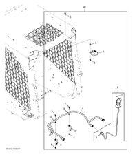 John Deere Skid Steer Loader Horn Kit At348484