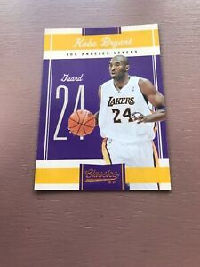 2010-11-PANINI-CLASSICS-BASE-CARD-KOBE-BRYANT-17-LAKERS-ALL-TIME-CAREER-LEADER