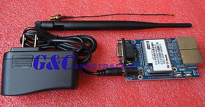 1PCS HLK-RM04 Embedded UART-ETH-WIFI Router Development Kit w/Antenna TOP M77