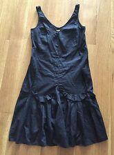 MARNI Estate 2009 Black Cotton Dress Sz 38