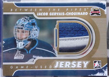 2011-12 ITG Between The Pipes Jersey GOLD Jacob Gervais-Chouinard /10 Rimouski