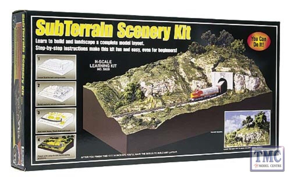 S929 Woodland Scenics Subterrain Scenery Kit