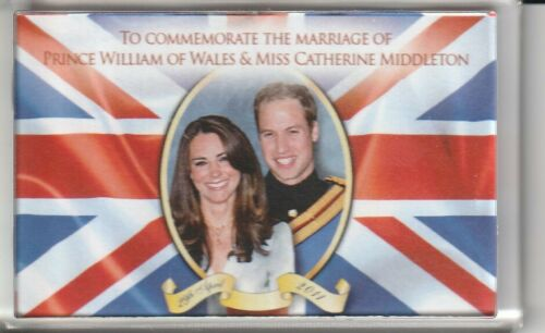 ***KÜHLSCHRANK-MAGNET***PRINZESSIN KATE-PRINZ WILLIAM-ROYAL WEDDING-2011-LONDON
