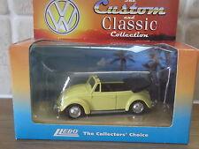 Lledo Vanguards VP2002, VW Volkswagen Beetle Cabriolet, yellow, Custom & Classic