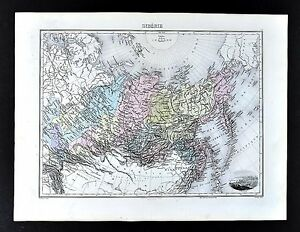 1880-Migeon-Map-Siberia-Russia-in-Asia-Arctic-Ocean-North-Pole-Tobolsk-View