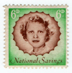 I-B-Cinderella-Collection-National-Savings-Princess-Anne-6d-1958