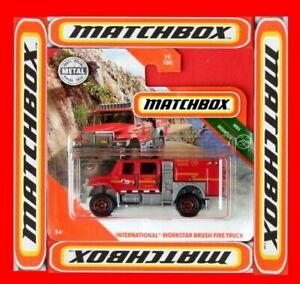 MATCHBOX-2020-INTERNATIONAL-WORKSTAR-BRUSH-FIRE-TRUCK-74-100-NEU-amp-OVP