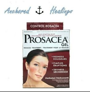 Prosacea Gel Medicated Rosacea Treatment Sulphur Chrysarobinum