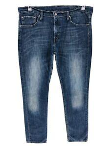 Levi/'s 511 Jeans Distressed Slim Fit Men/'s Sz W28 W34 Blue Denim NEW