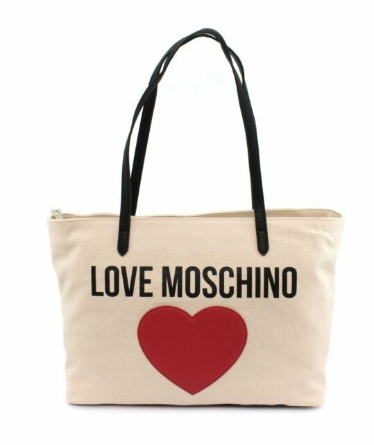 Love Moschino Heart Donna Tote Nero