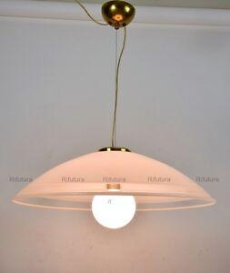Campane Vetro Per Lampadari.Big Lampadario Campana Vetro Murano Style Seguso Leucos Glass Design
