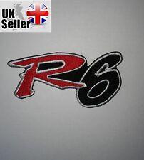 Yamaha R6 Iron-on/sew-on Embroidered Patch Motorcycle Biker Kawasaki