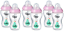 Tommee-Tippee-6x-340ml-Closer-Nature-Baby-Feeding-Bottle-Decorated thumbnail 3