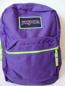 Image Is Loading Nwt Jansport Superbreak Purple Backpack S Book Bag