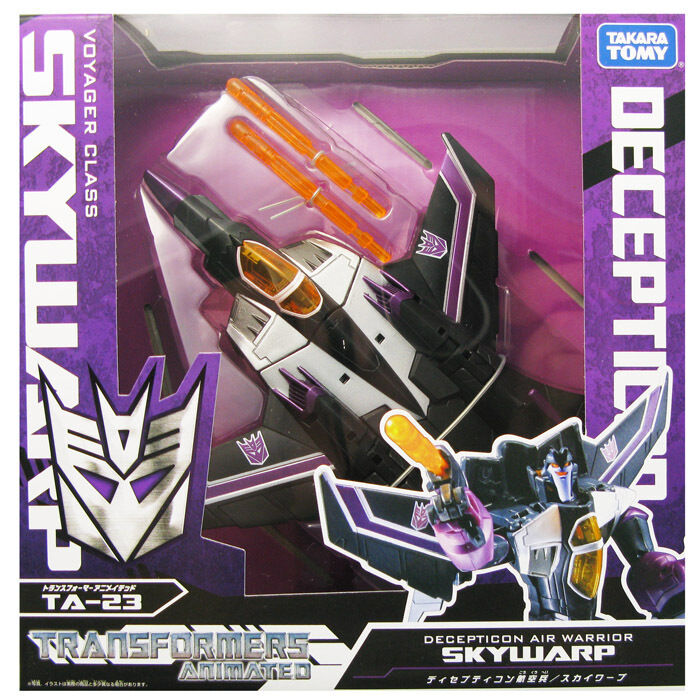 TRANSFORMERS TAKARA METALLIC METALLIC METALLIC CHROME TA-23 SKYWARP 28f767