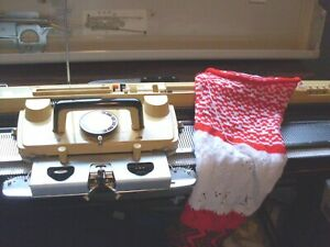 Singer Studio Sk 360 Knitting Machine Serviced And Ready To Knit Ebay