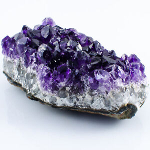 Large Amethyst Druzy Cluster Natural Crystal Uruguay Grade AA Druze 100-150g