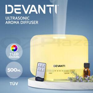 Devanti Ultrasonic Aroma Aromatherapy Diffuser Oils Electric Humidifier Remote