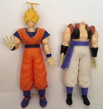 Dragonball Z/GT Figures-Goku-Super Saiyan Halo Head & Gogeta Body-Rubber Clothes