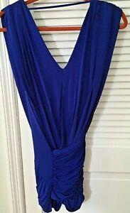 Bcbgmaxazria Royal Blue Quot Alondra Quot Cocktail Dress Nwt