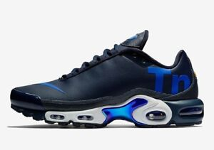 Details about Mens NIKE AIR MAX PLUS TN SE Obsidian Trainers AQ1088 400