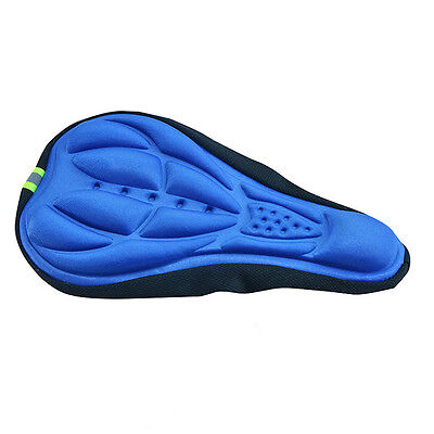 Vélo Bicyclette Cyclisme Gel Silicone Selle Couverture Protection Siège Housse