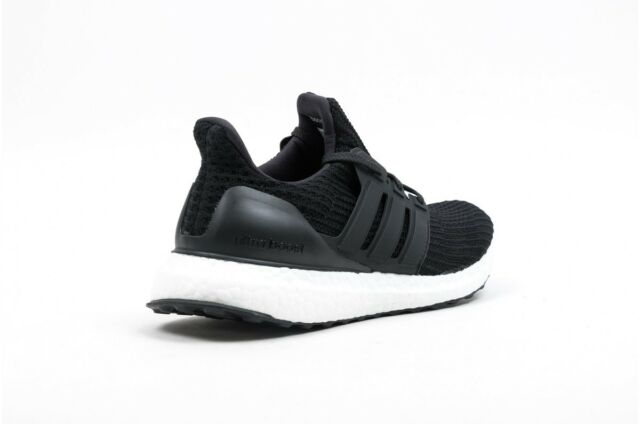 f00e6d4827f New Men s ADIDAS UltraBoost Ultra Boost 4.0 Running Sneaker - BB6166 Black  White