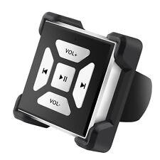 QPAU Car Bluetooth Media Audio Music Steering Wheel Remote Button for Smartphone