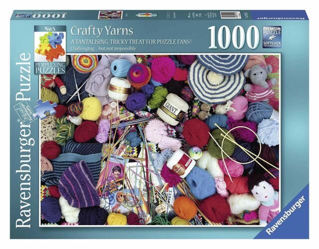 Puzzle 1000 Pezzi Crafty Yarn Ravensburger 19515