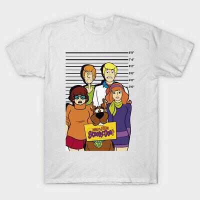 Men/'s//Unisex SCOOBY DOO,Funny,Cartoon,Shaggy,Velma,Fred,Retro Gift T-Shirt P377