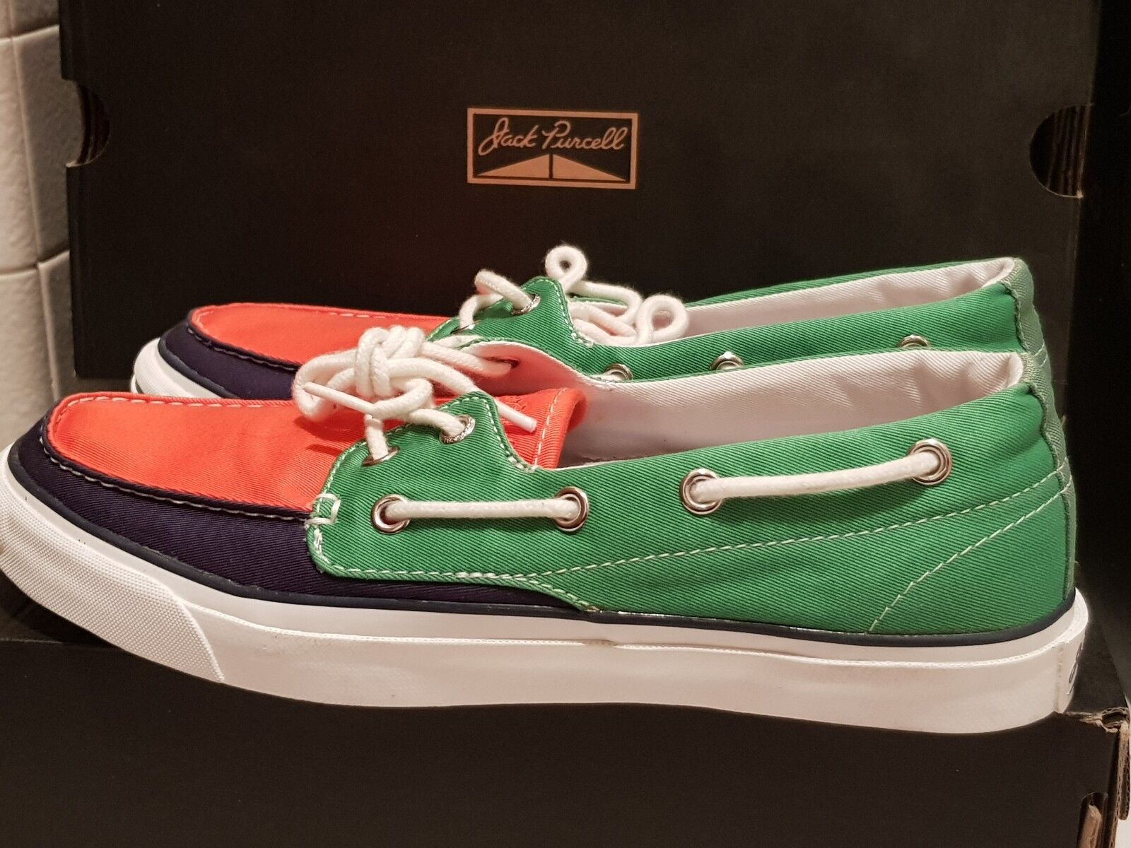 Converse Jack Ox Purcell JP Boat Zapatos Ox Jack  édition limitée NEW T40.5 No Sottsass c34e32