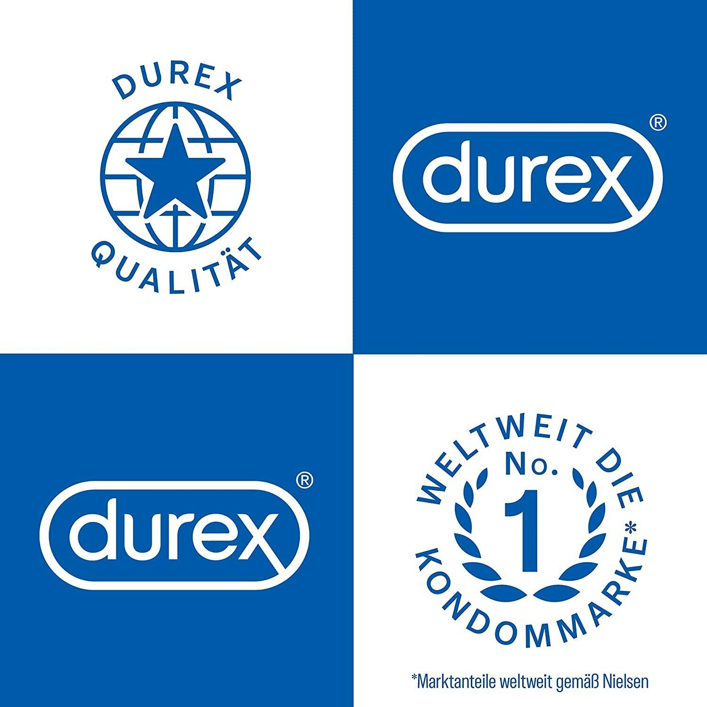 Durex Gefühlsecht Ultra Kondome Präservative Verhütung Empfängnisschutz 20 Stück