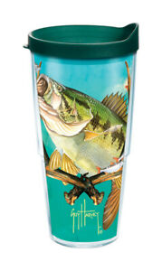 Tervis-Guy-Harvey-24-oz-Bass-and-Antlers-Tumbler-Clear