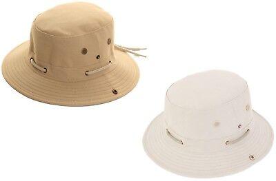Aussie Cappello Da Uomo 100% Cotone Larga Tesa Safari Sun Cap Cappello Da Sole Da Uomo Cricket-mostra Il Titolo Originale