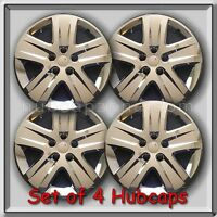 Set 4 17 Chrome Bolt On Chevy Chevrolet Impala Hubcaps 2010-2012 Wheel Covers