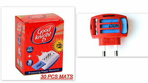 Mosquito Insect Repellent Plug In Mat Tablet Heater Good Knight Ebay