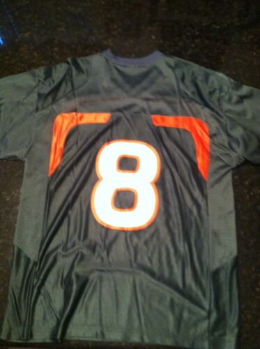 ,XXL NEW NWT NIKE  MEN/'S  U OF MIAMI HURRICANES JERSEY  #8 NWT $60 MEN/'S M