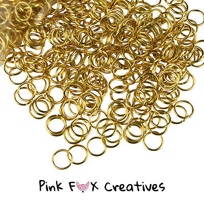 3mm SILVER PLATED 0.7mm JUMP RINGS JEWELLERY METAL FINDING CRAFT NECKLACE HOBBY