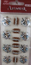 Anchors  and Boat Set Artoz Card Embellishments Hand Made Stickers