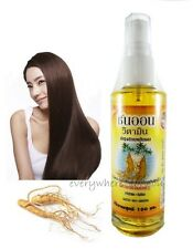 GINSENG TONIC HAIR LOSS NATURAL FAST GROWTH REGROWTH SERUM REPAIR 100 ML 3.53 Oz