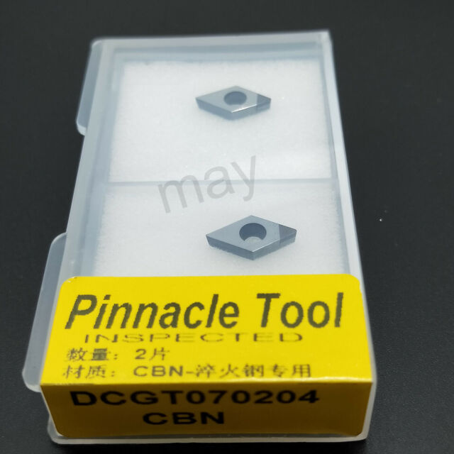 2pcs CCGT060204 CBN  INSERT diamond inserts carbide bit for steel processing