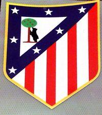 Equipo de fútbol Atlético Madrid recuerdo Crest Hierro En Parche Insignia