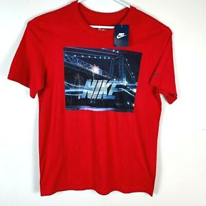 Nike-Athletic-Cut-Red-T-Shirt-Size-Men-039-s-Large-BNWT