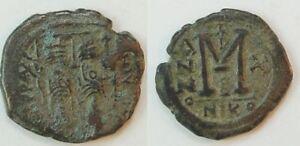 Byzantium Heraclius (7) 610-641 N.Chr Follis Nikomedia VF