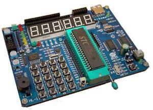 C51-AVR-MCU-Development-Board-MULTIFUNZIONE-test-Learning-Board-Kit-fai-da-te