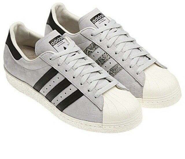 Adidas Superstar 80s Skate Grey Legacy Size -Sold 10.5 Rare -Sold Size out NIB 6ac153